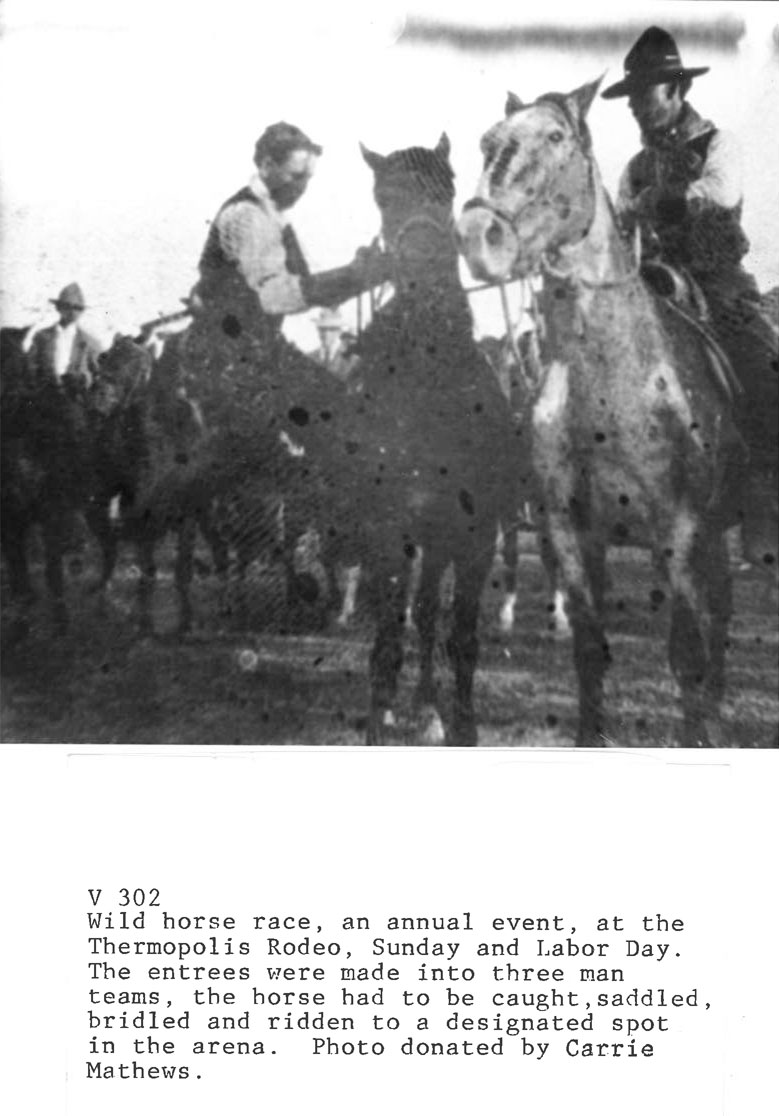History of the Thermopolis Cowboy Rendezvous Rodeo
